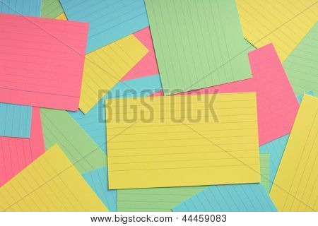 Index Card Background