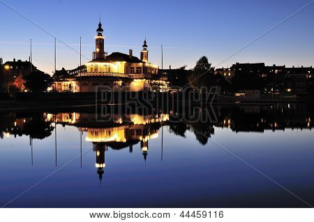 Denmark Copenhagen night