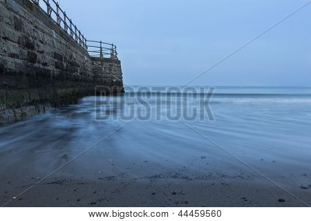Swanage Stone Pier and the Sea