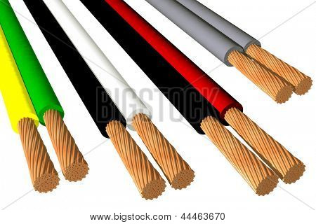 Photo of Biphasic cables (3D)