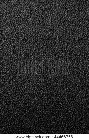 black plastic foam texture ideal  for background