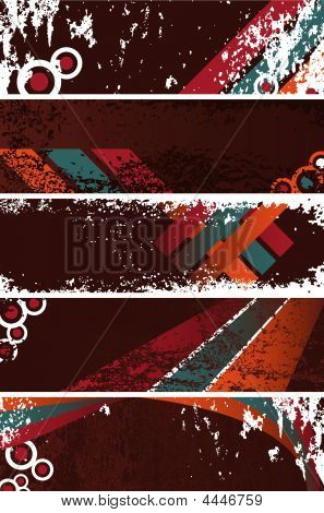 Grunge Banners Template