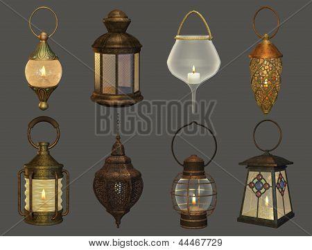 Eight Lanterns