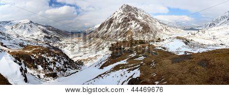Ogwen Valley Panoramic View