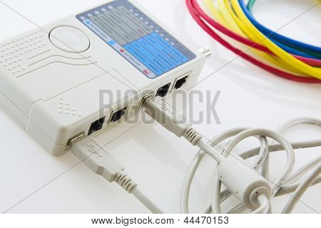 Tester Usb Cables And Network Cables