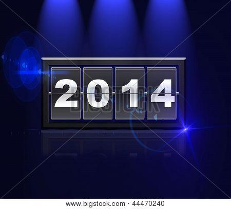 Counter Calendar 2014.