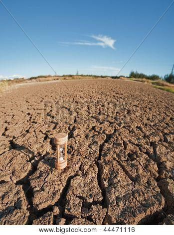 Closeup Of Dry Soil