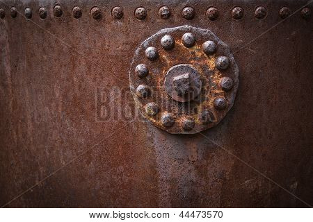 Rusted Oil Tank