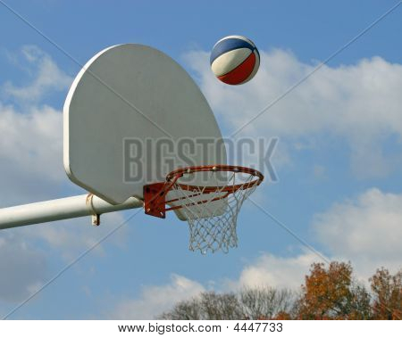 Basketball In Air