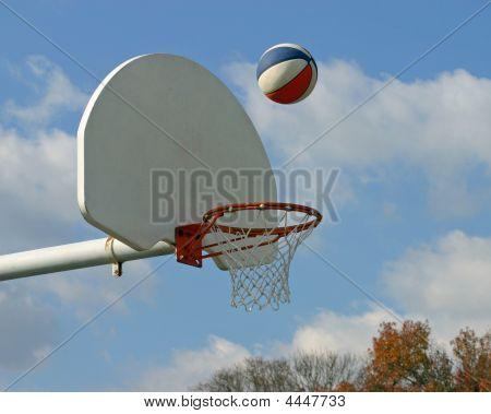Basketball In Air