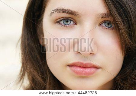 Sad Young Beauty