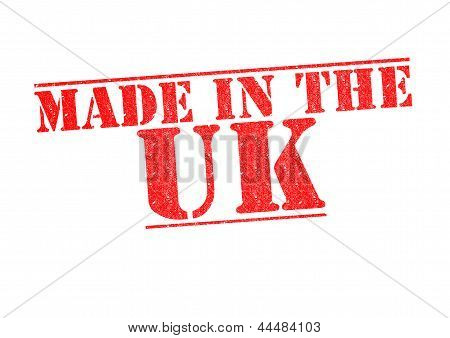 Made In The Uk Rubber Stamp