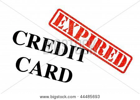 Credit Card Expired