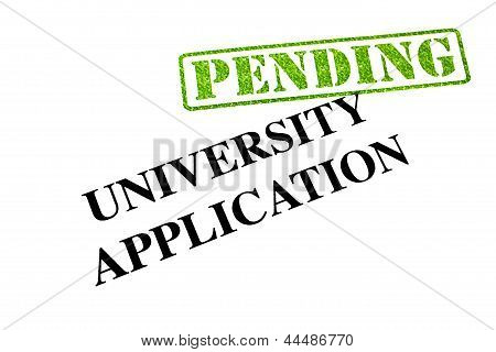 University Application Pending