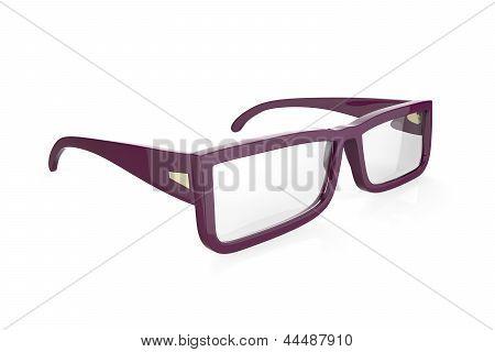 Purple Eyeglasses