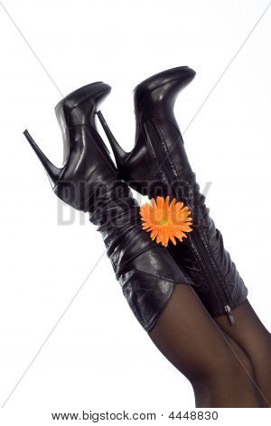 Black Stiletto Boots
