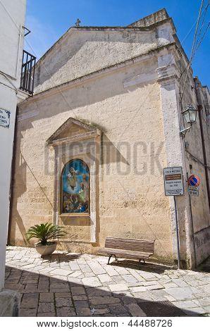 Church of Carmine. Mottola. Puglia. Italy.