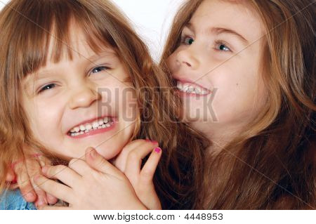 Two Playful Girls