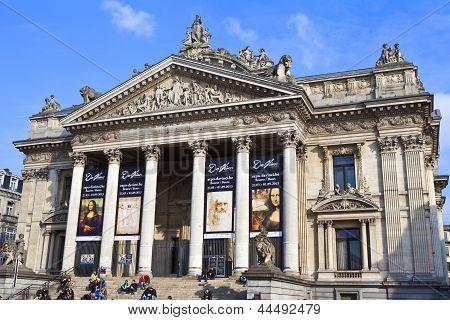 Bourse In Brussels