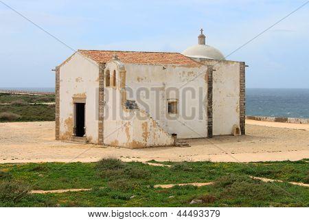 Chapel In Sagres, Algarve, Portugal