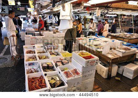Tokyo-Fischmarkt