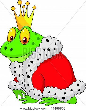 The frog king cartoon