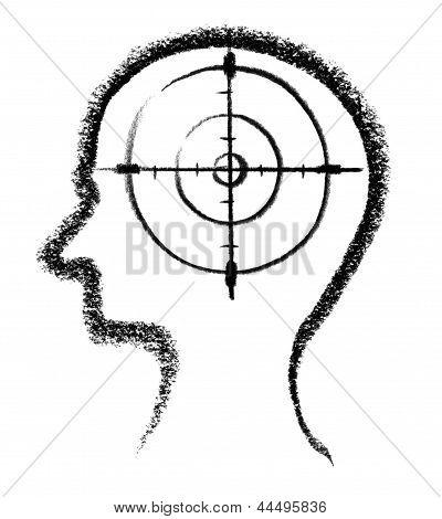 Icono de asesinato