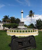 stock photo of christopher columbus  - Christopher Columbus Memorial at Guadeloupe  - JPG
