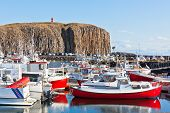 The Town Of Stykkisholmur, Snaefellsnes Peninsula, Iceland poster