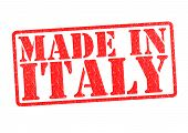 Made In Italien-Stempel