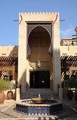 Entrance To Madinat Jumeirah Souq In Dubai poster