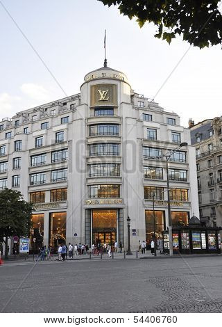 Paris,august 15,2013-Historic building in Paris