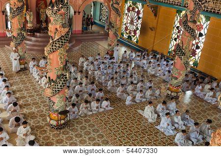 Cao Dai Temple. Ho Chi Minh City. Vietnam