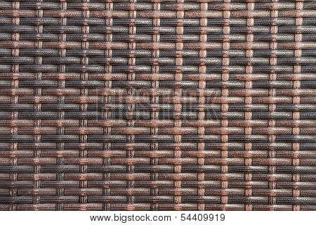 Wicker woven background