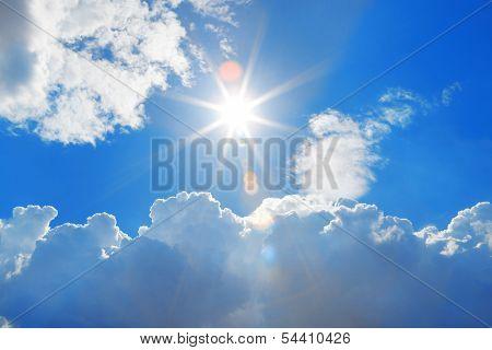 The Sky And Sun