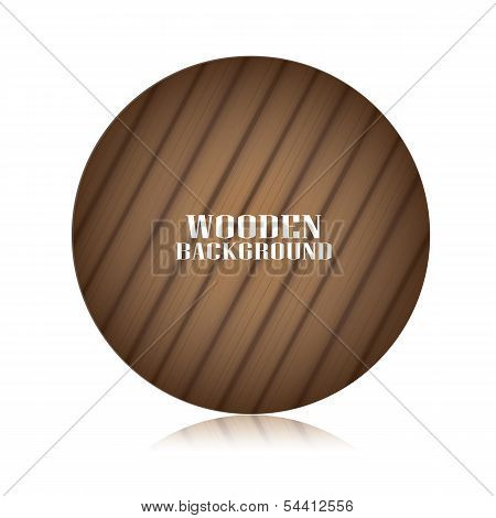vector wooden background for design.