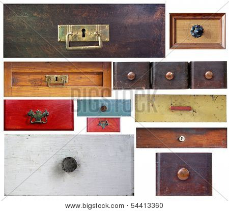 Various Old Drawers