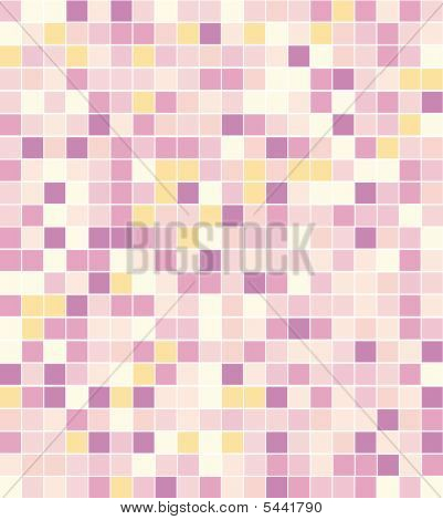 Abstract Square Pixel Points Mosaic Background