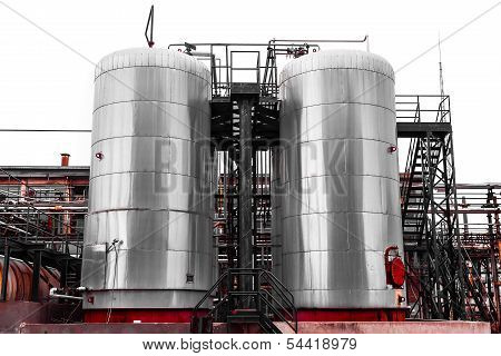 industrial chemical storage