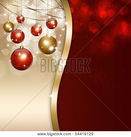 Holiday Xmas Magic Background
