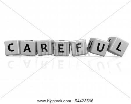 Careful buzzword