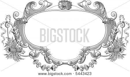Cartouche Black White