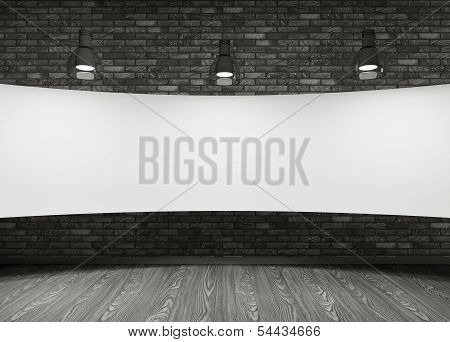 White Placard In The Room