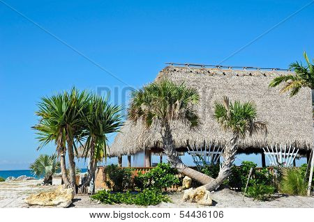 Beach Tiki Hut Bar