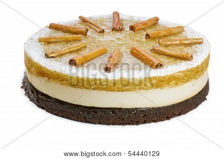Whole Apple Birthday Cake