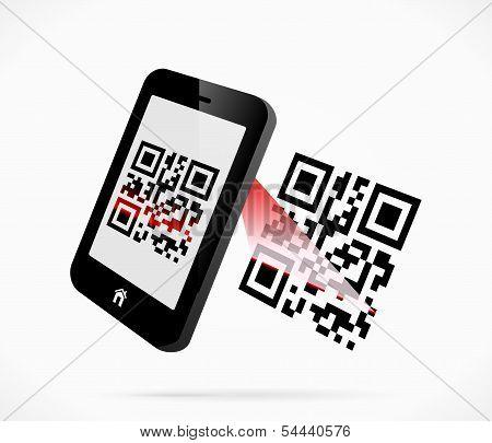 QR-code scan