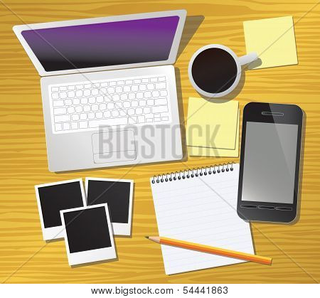 Work Table, vector