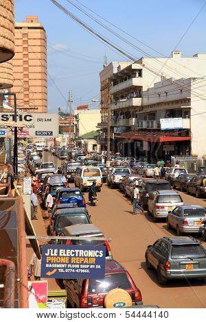 Downtown Kampala Street