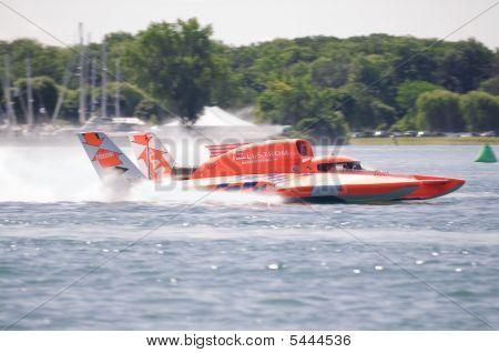 Orange Hydroplane