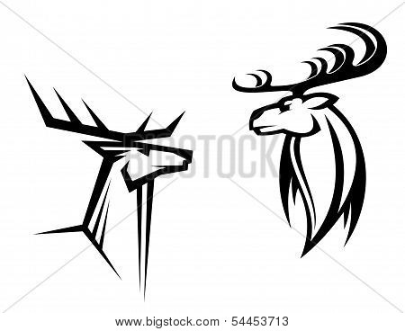 Deer Mascots